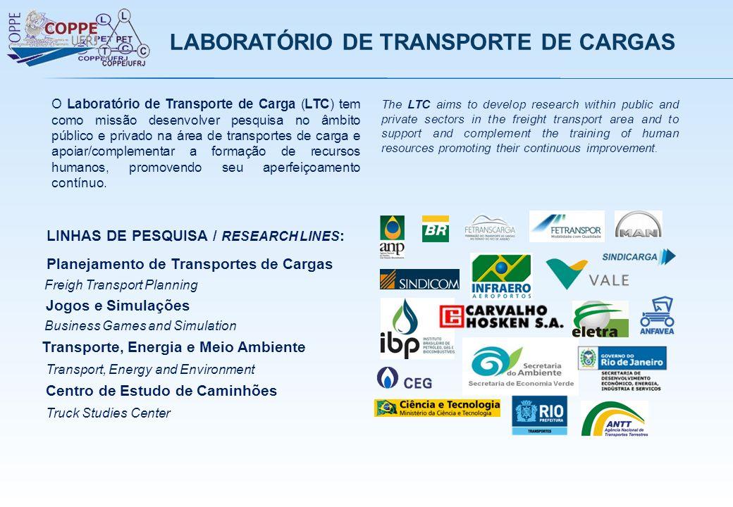 LABORATÓRIO DE TRANSPORTE DE CARGAS
