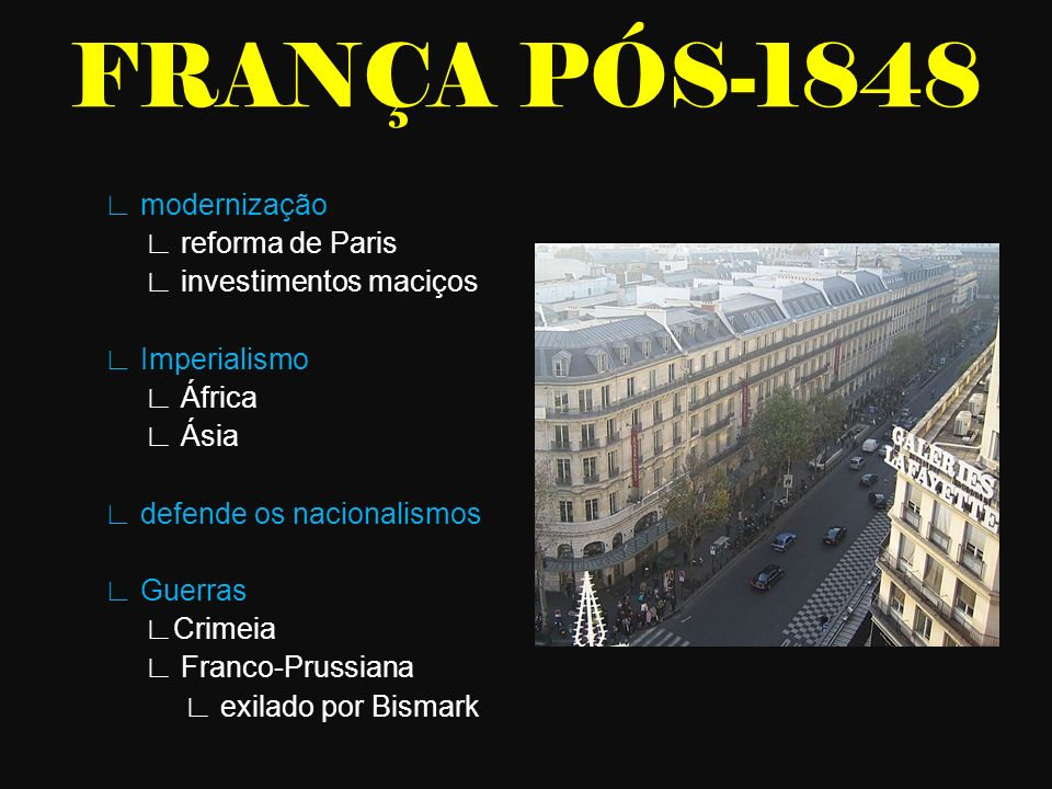 FRANÇA PÓS-1848
