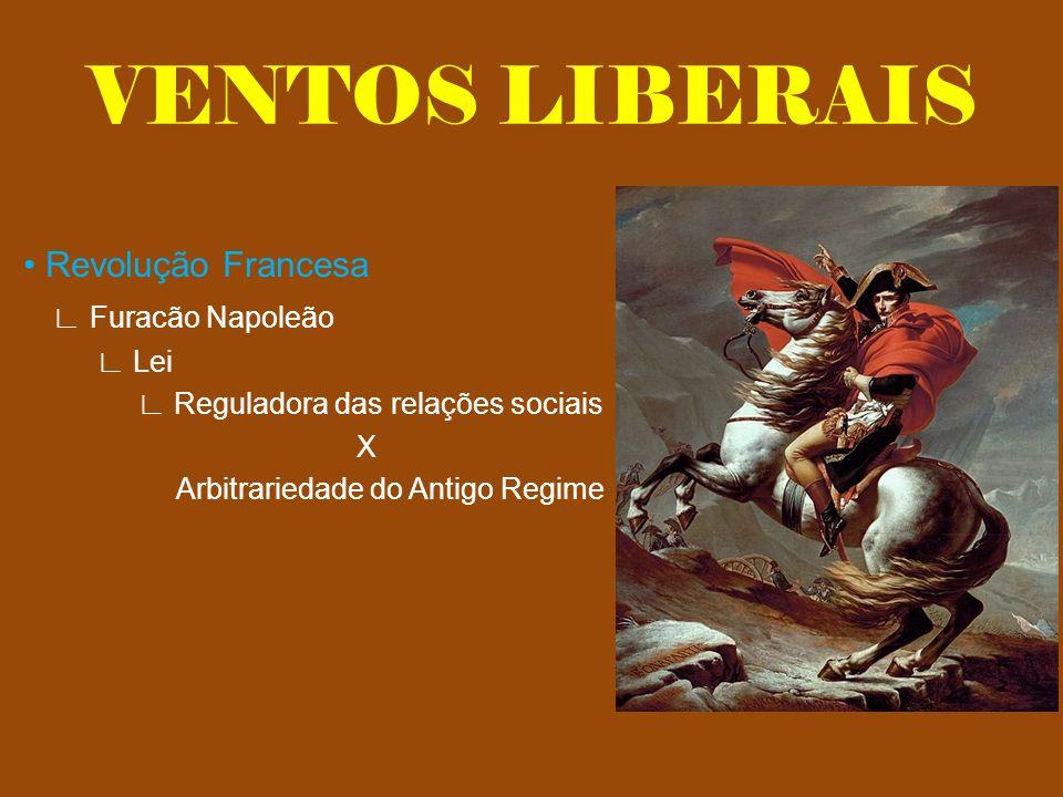 VENTOS LIBERAIS • Revolução Francesa ∟ Furacão Napoleão ∟ Lei