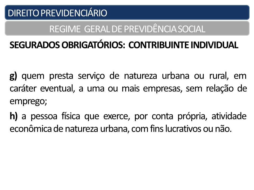 REGIME GERAL DE PREVIDÊNCIA SOCIAL