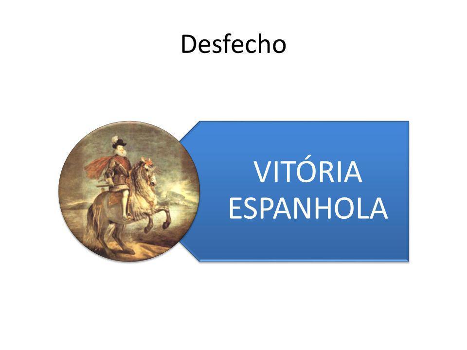Desfecho VITÓRIA ESPANHOLA