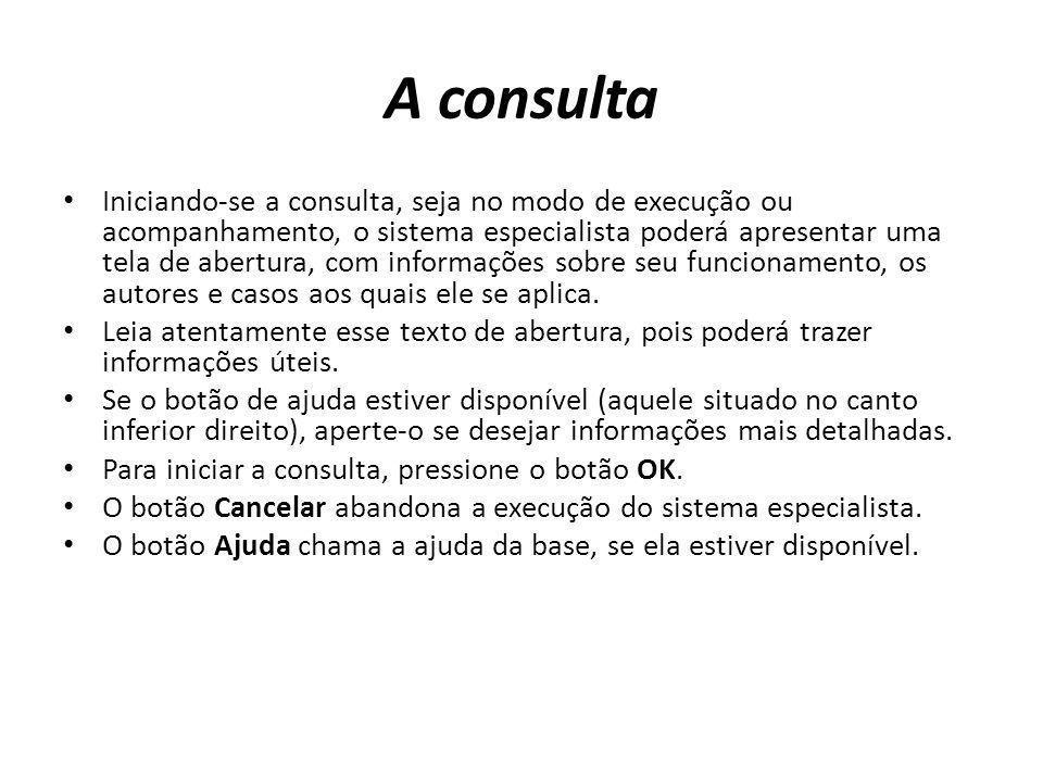 A consulta