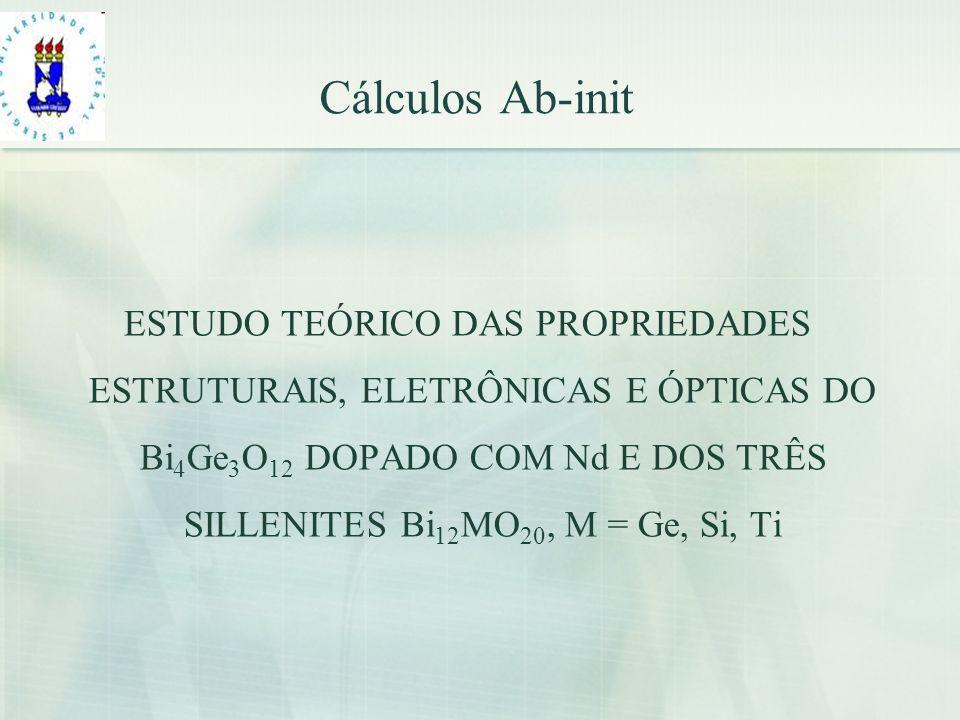 Cálculos Ab-init