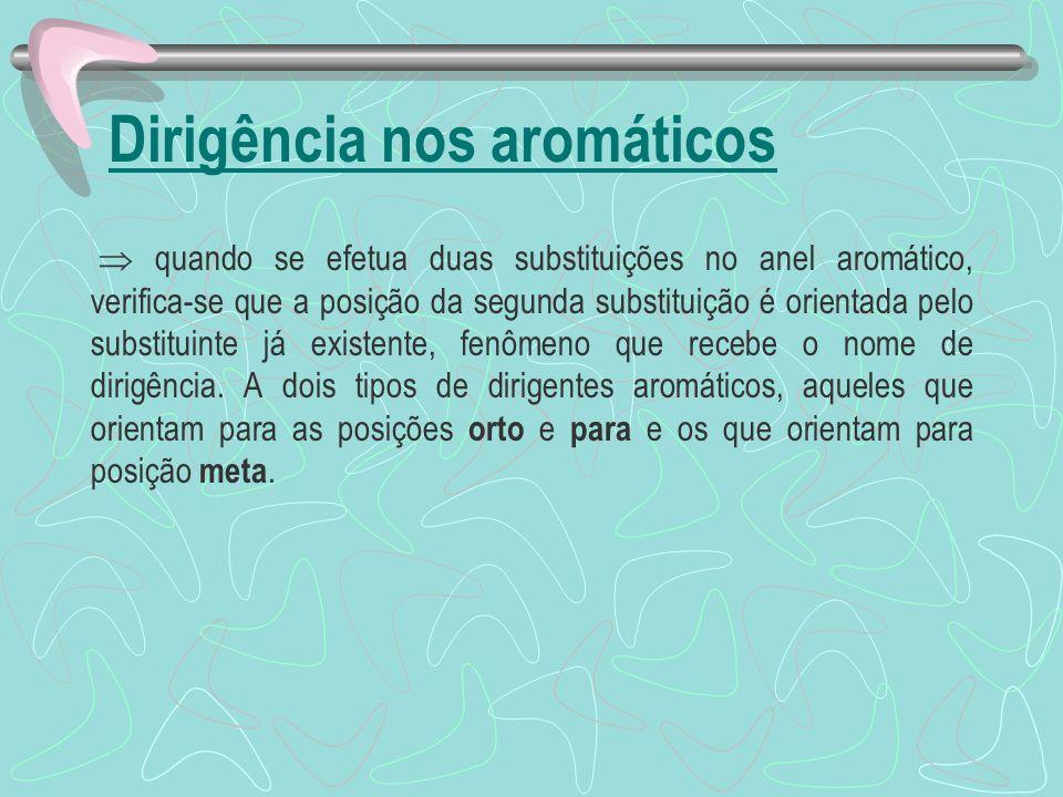 Dirigência nos aromáticos