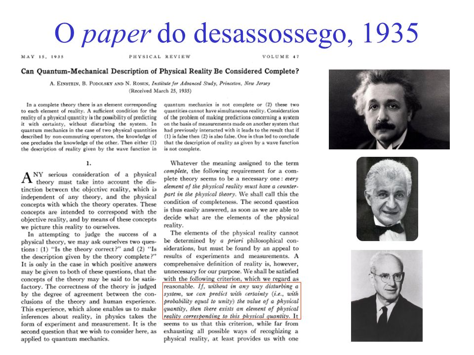 O paper do desassossego, 1935