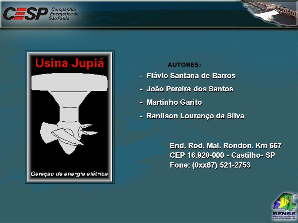 Flávio Santana de Barros - João Pereira dos Santos - Martinho Garito