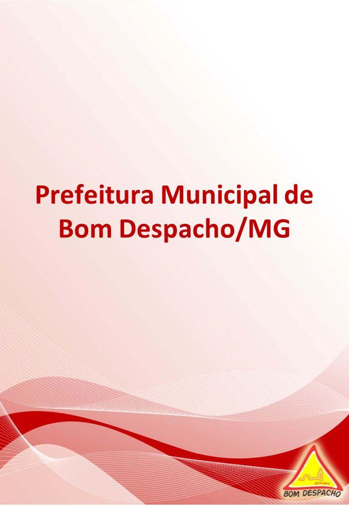 Prefeitura Municipal de Bom Despacho/MG