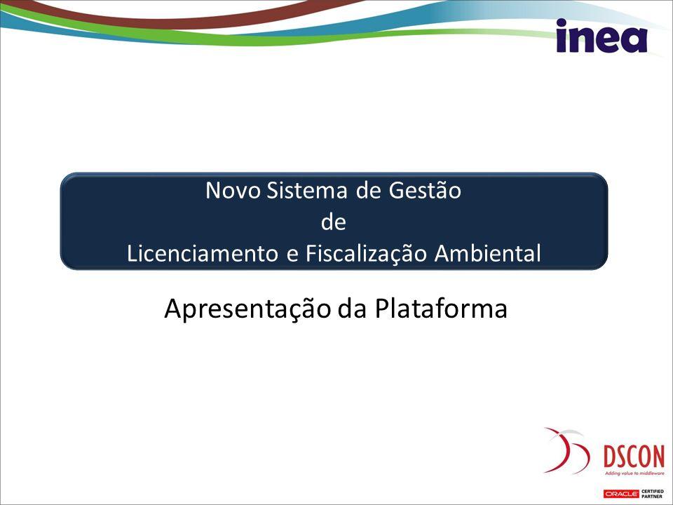 Apresentação da Plataforma