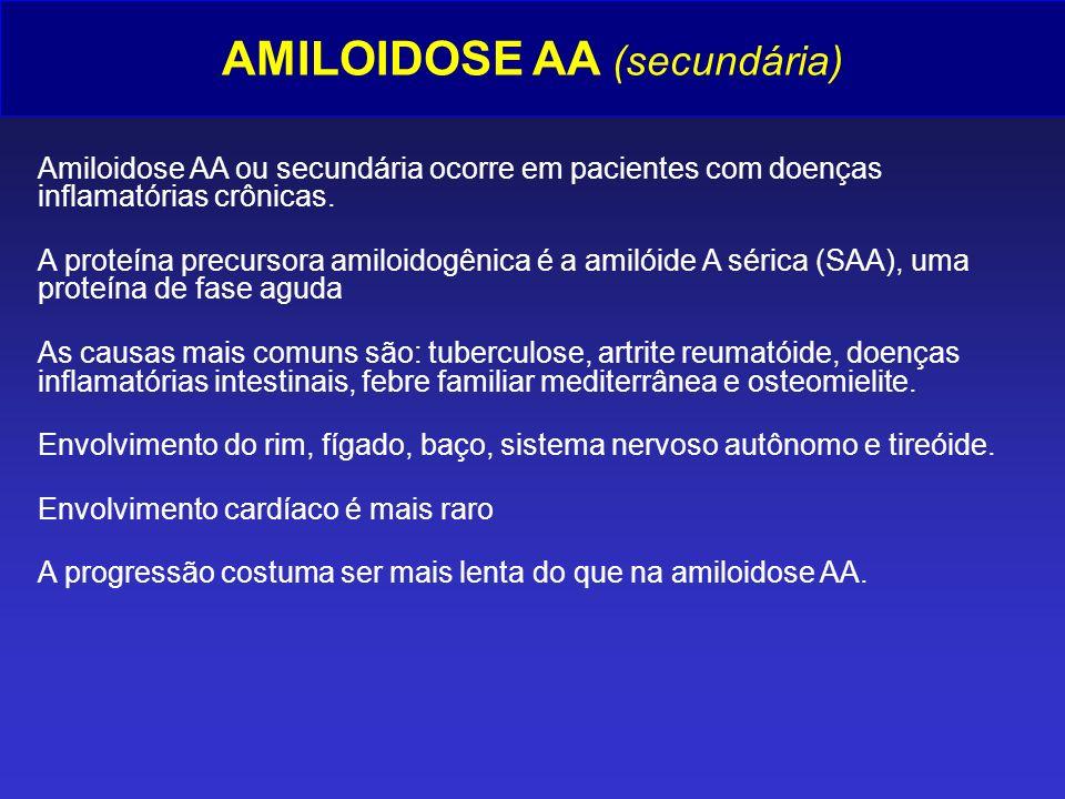 AMILOIDOSE AA (secundária)