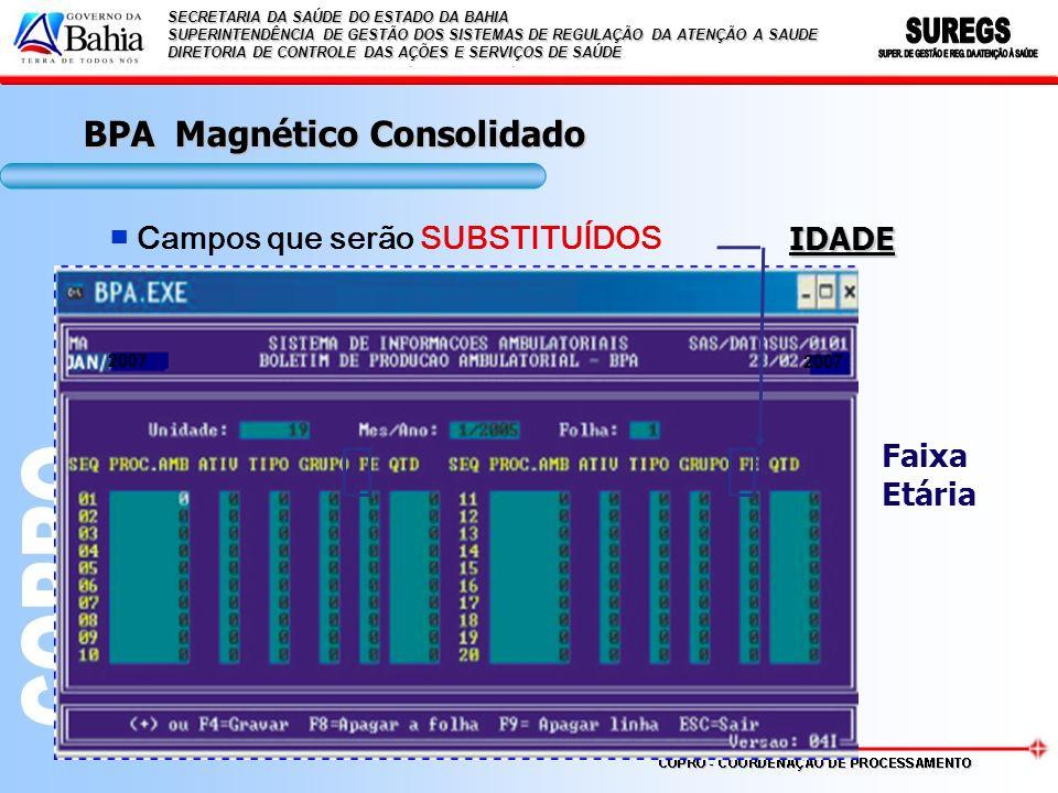 BPA Magnético Consolidado