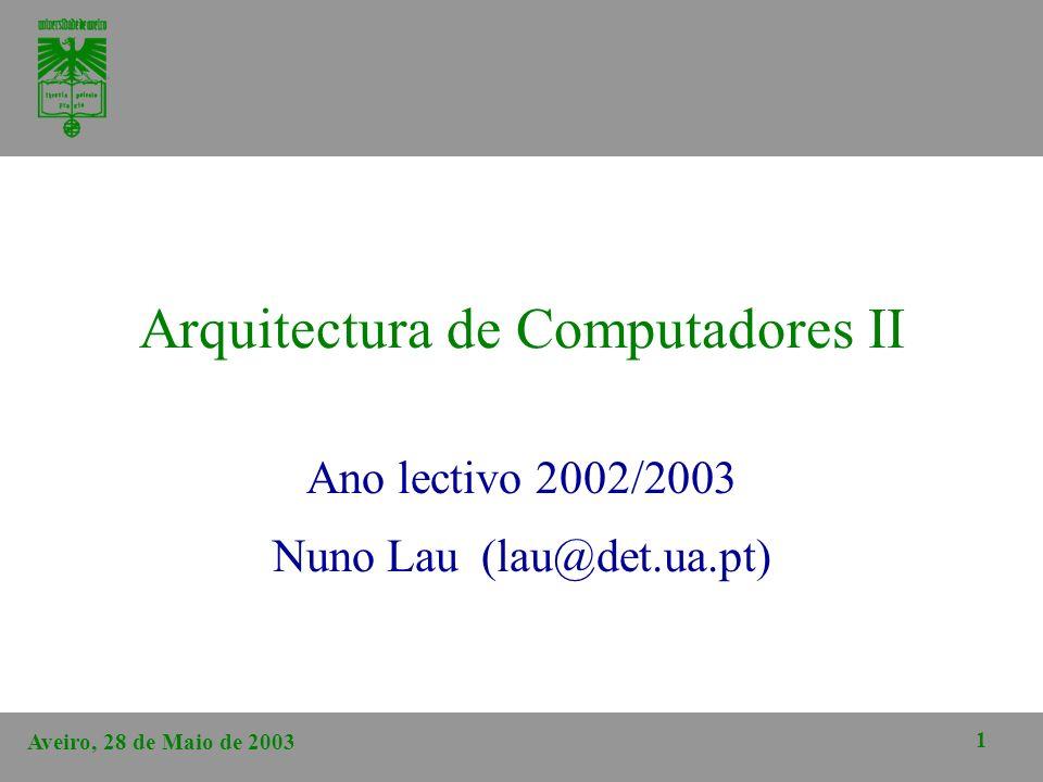 Arquitectura de Computadores II