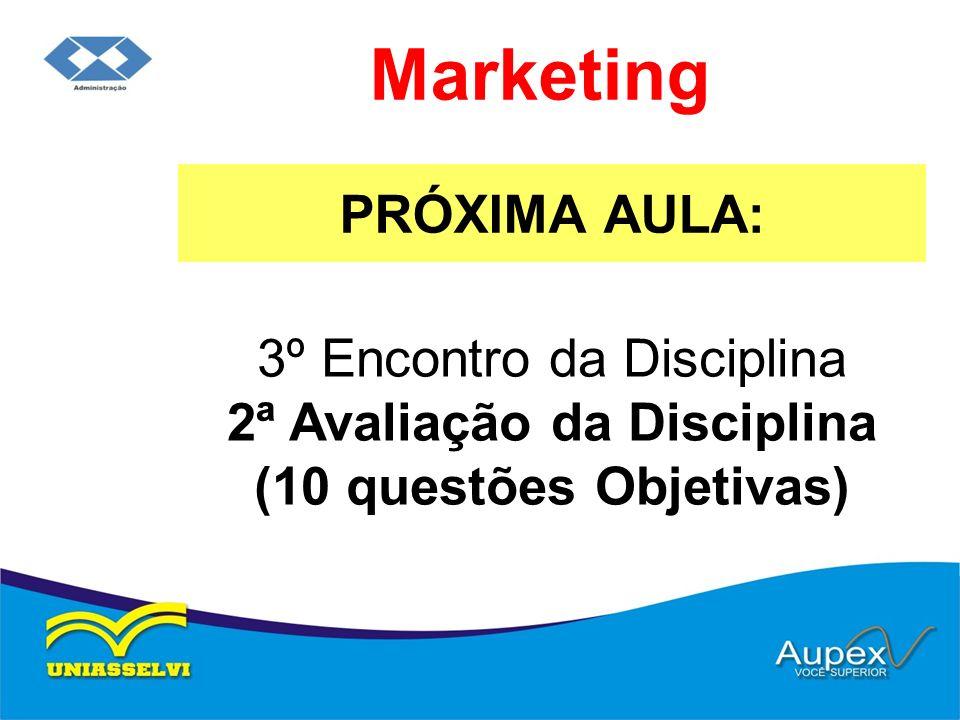 Marketing PRÓXIMA AULA:
