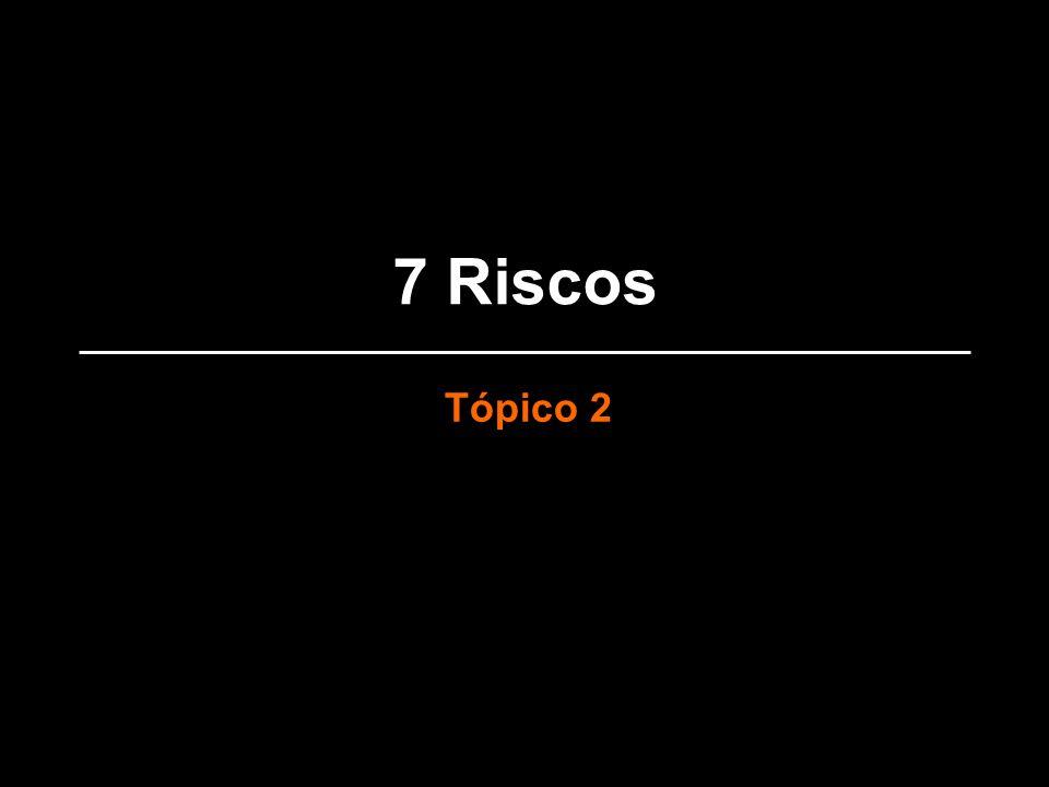 7 Riscos Tópico 2