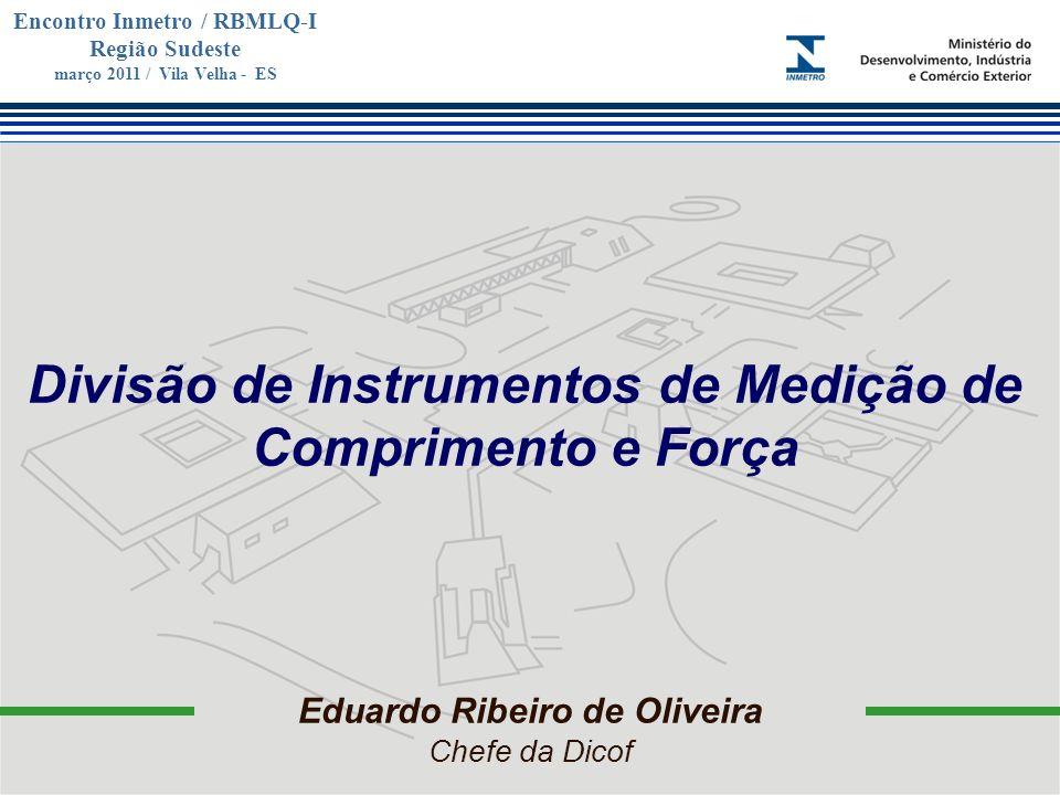 Divisão de Instrumentos de Medição de Comprimento e Força