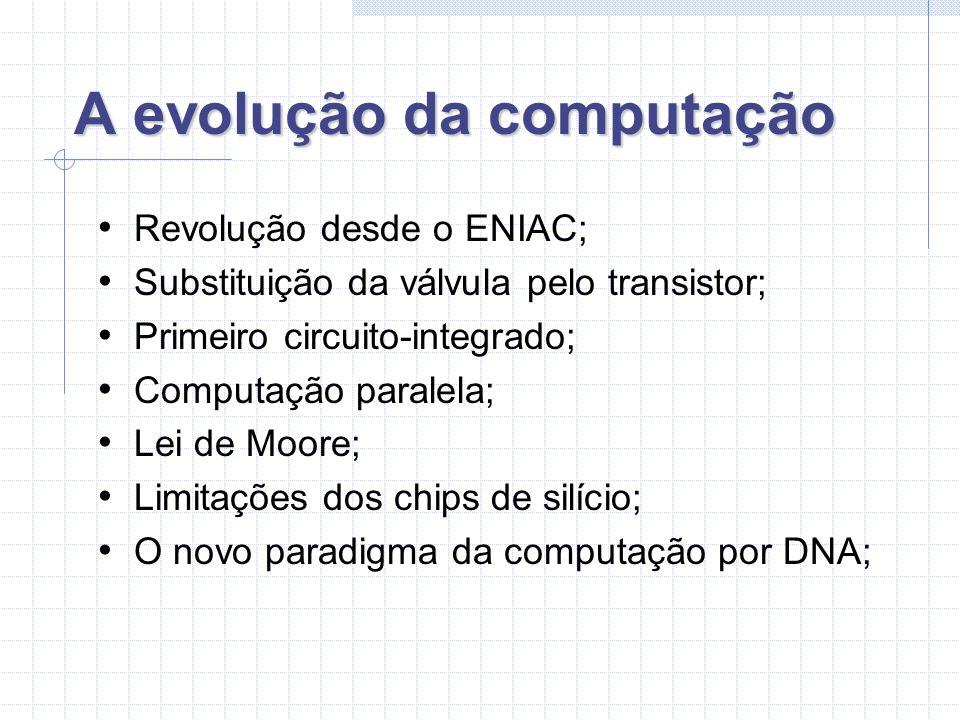 A evolução da computação