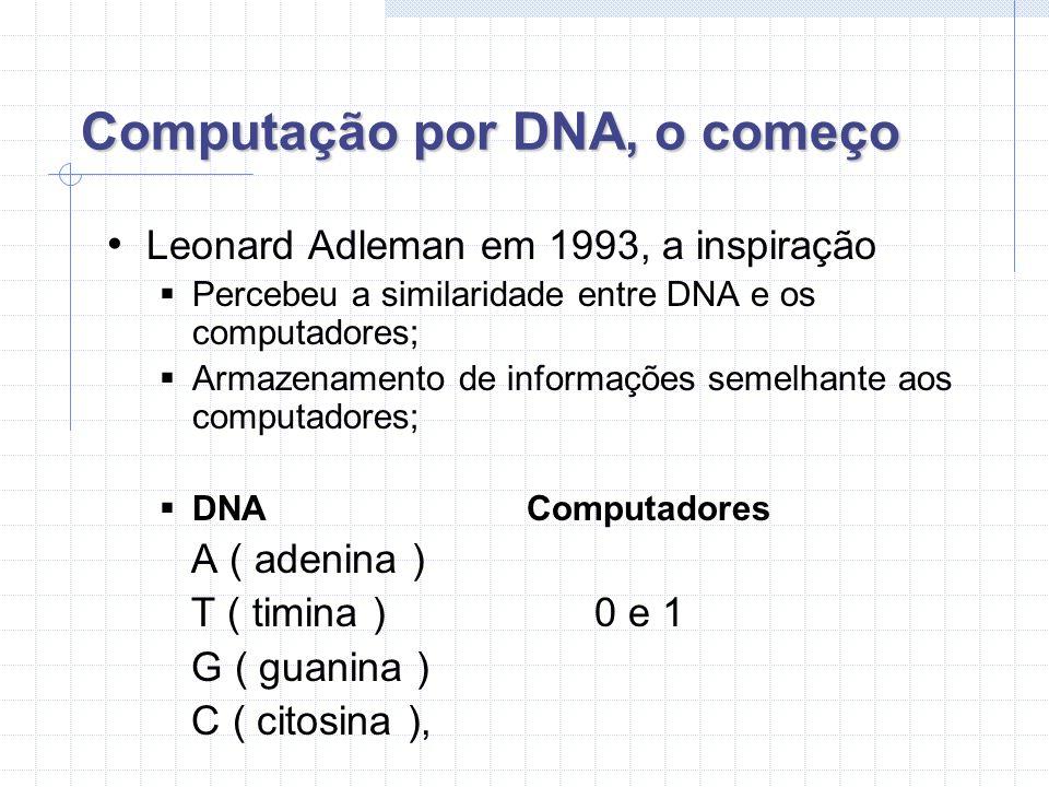 Computação por DNA, o começo