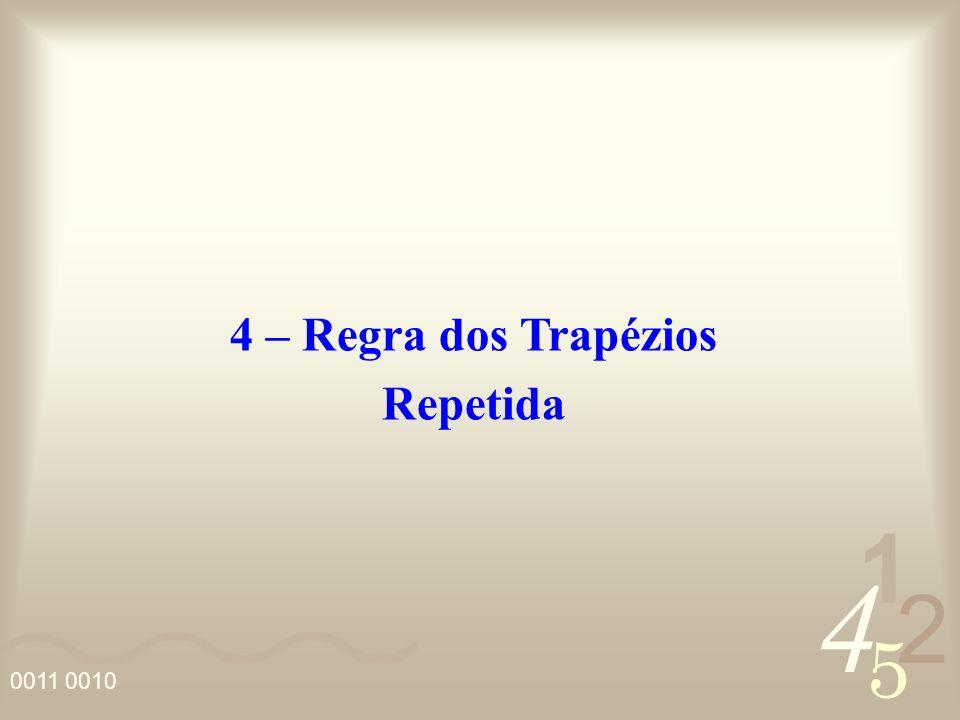 4 – Regra dos Trapézios Repetida