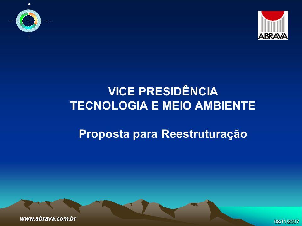 TECNOLOGIA E MEIO AMBIENTE Proposta para Reestruturação