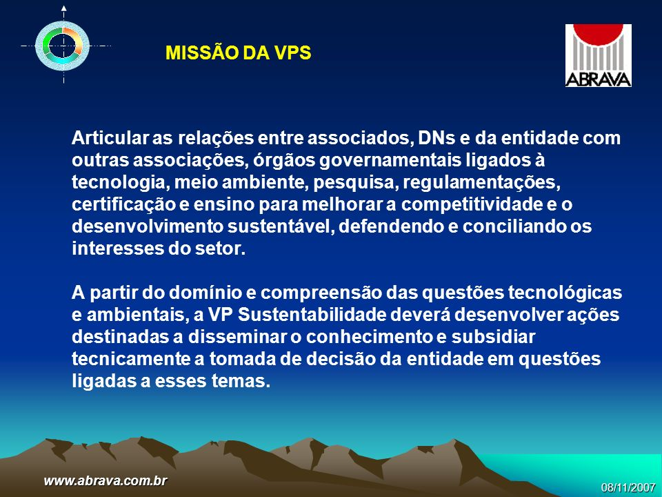 MISSÃO DA VPS