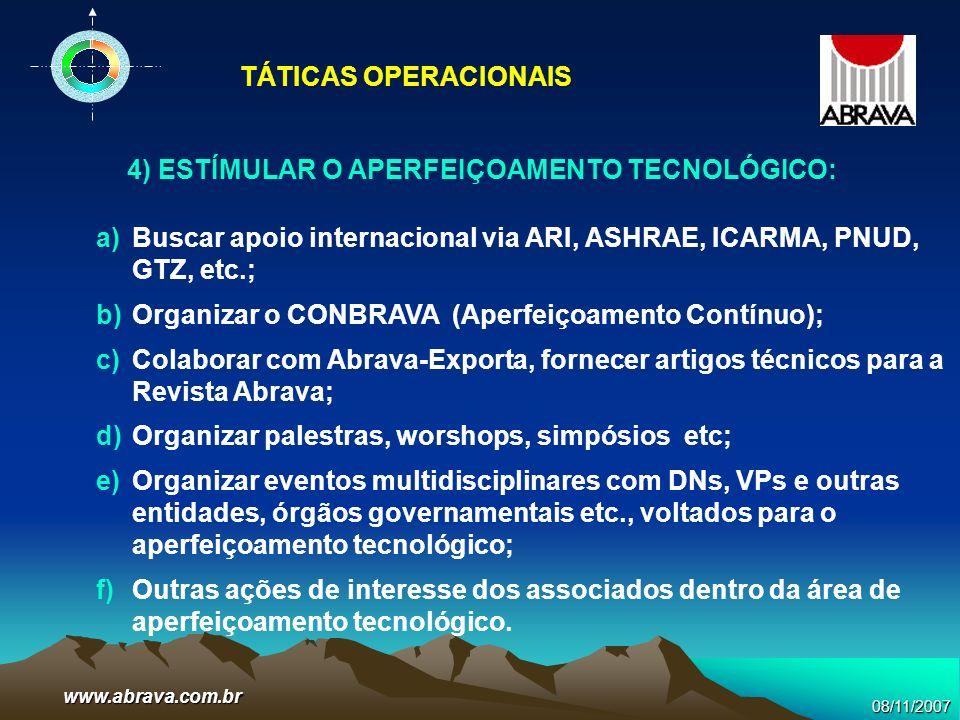 4) ESTÍMULAR O APERFEIÇOAMENTO TECNOLÓGICO: