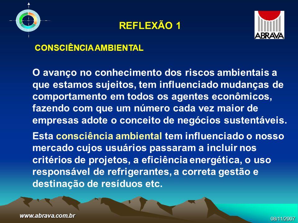 REFLEXÃO 1 CONSCIÊNCIA AMBIENTAL.