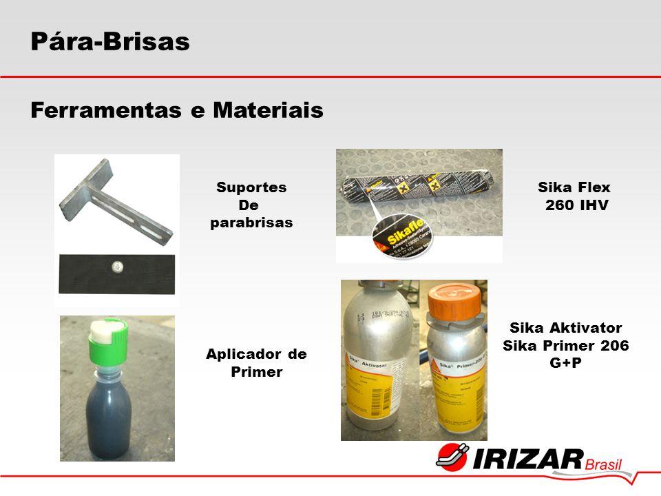 Pára-Brisas Ferramentas e Materiais Suportes De parabrisas Sika Flex