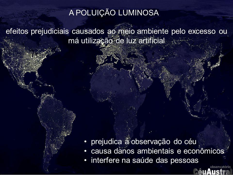 CéuAustral A POLUIÇÃO LUMINOSA