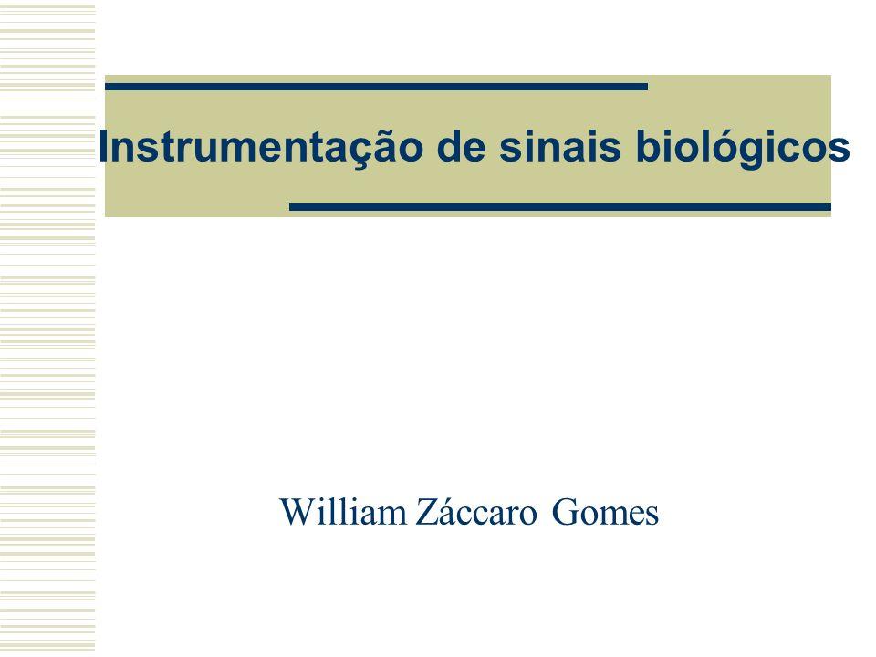 Instrumentação de sinais biológicos