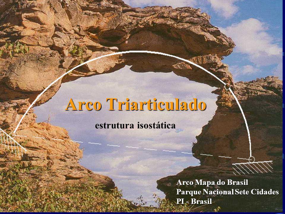 Arco Triarticulado estrutura isostática