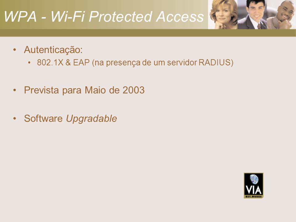 WPA - Wi-Fi Protected Access