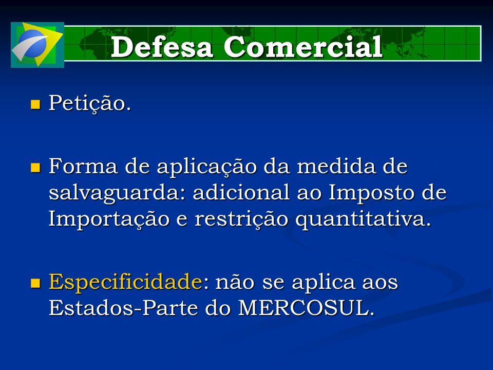 Defesa Comercial Petição.