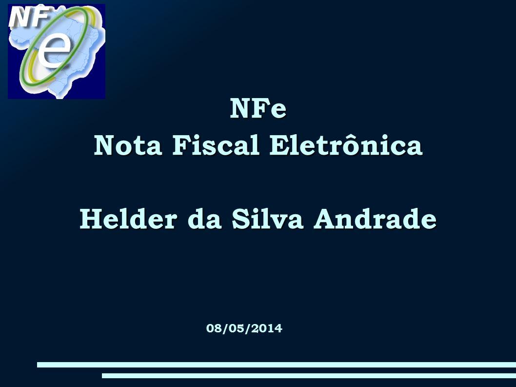 Nota Fiscal Eletrônica Helder da Silva Andrade