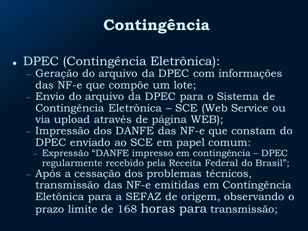 Contingência DPEC (Contingência Eletrônica):