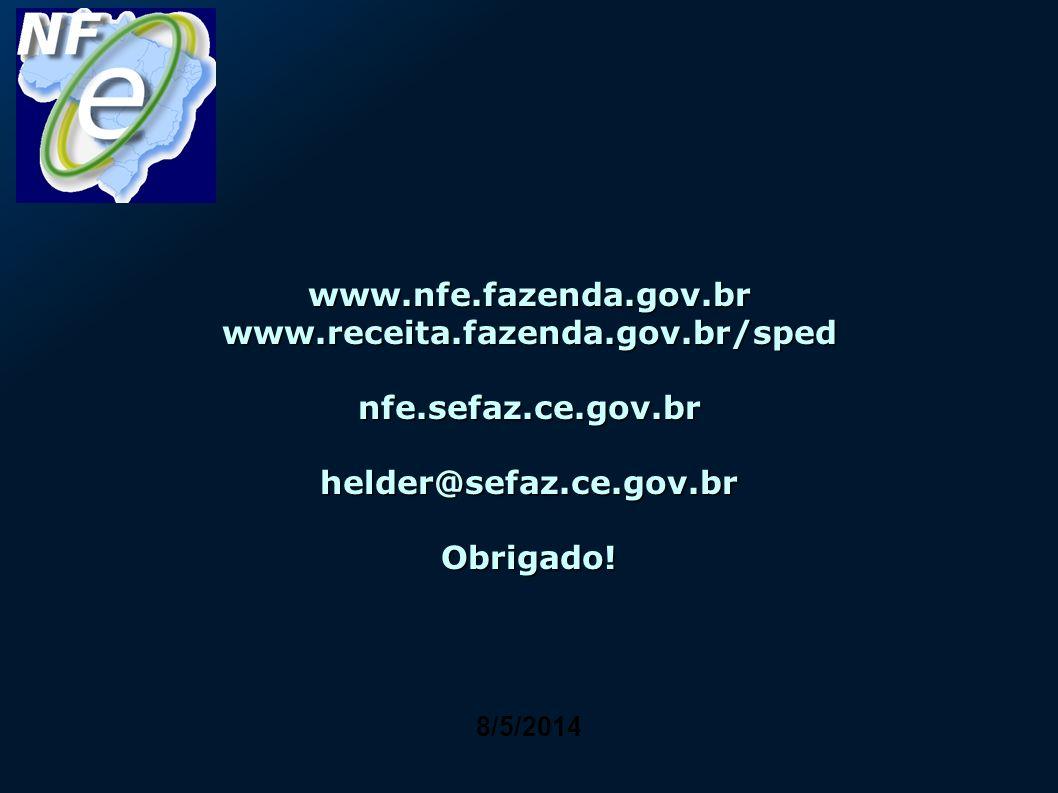 www. nfe. fazenda. gov. br www. receita. fazenda. gov. br/sped nfe