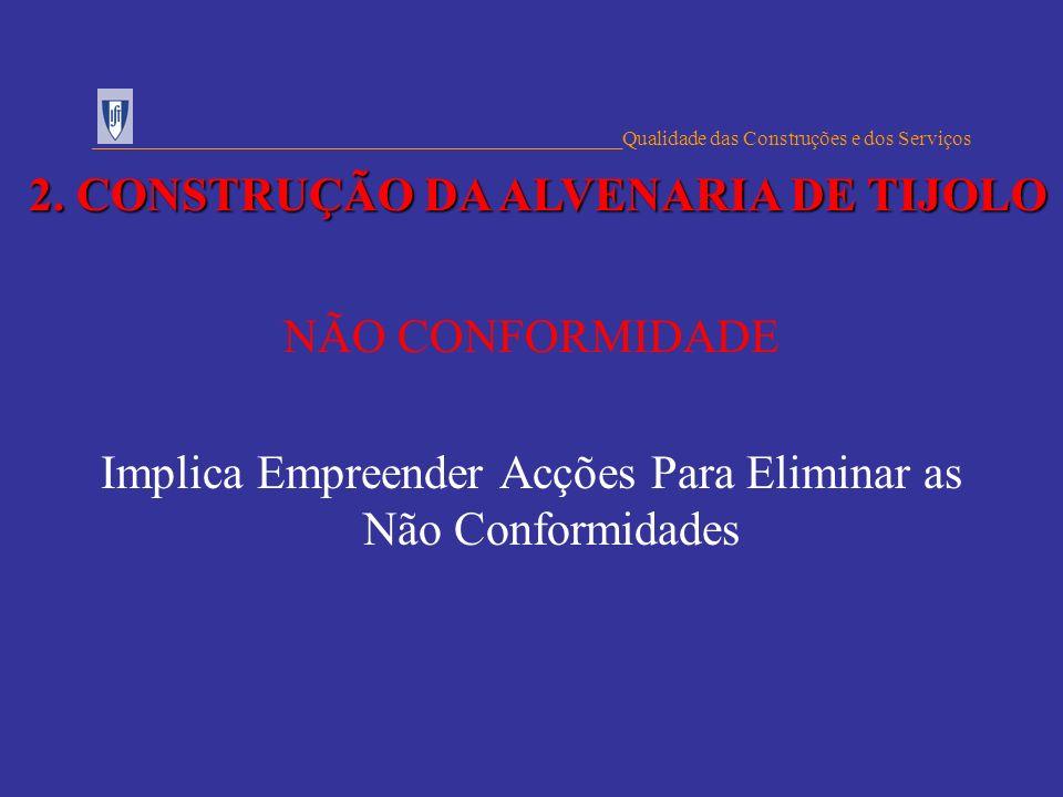 2. CONSTRUÇÃO DA ALVENARIA DE TIJOLO