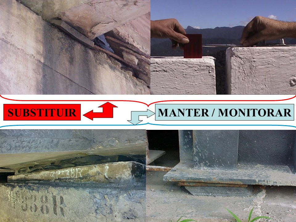 SUBSTITUIR MANTER / MONITORAR