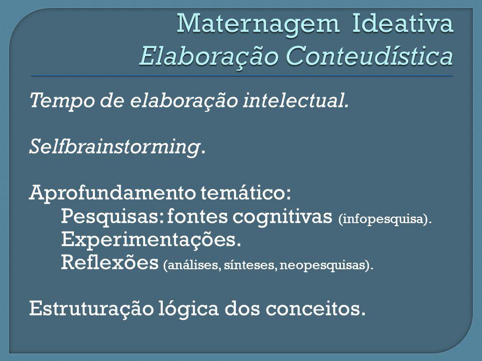 Maternagem Ideativa Elaboração Conteudística