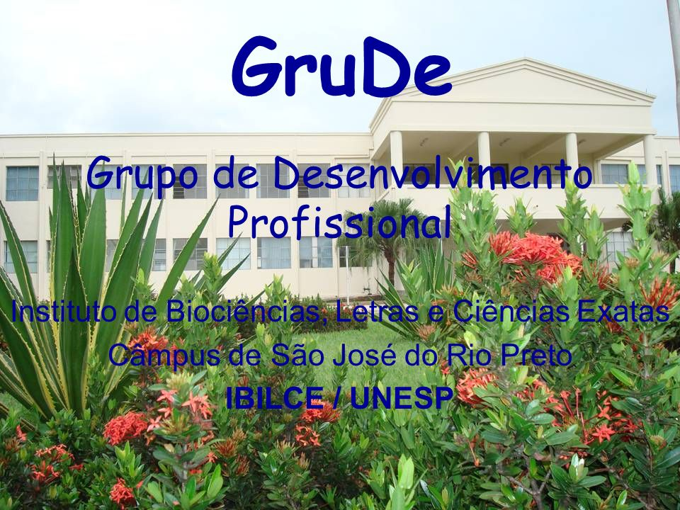 Grupo de Desenvolvimento Profissional