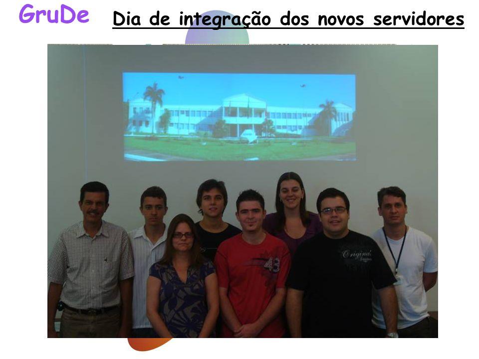 Dia de integração dos novos servidores