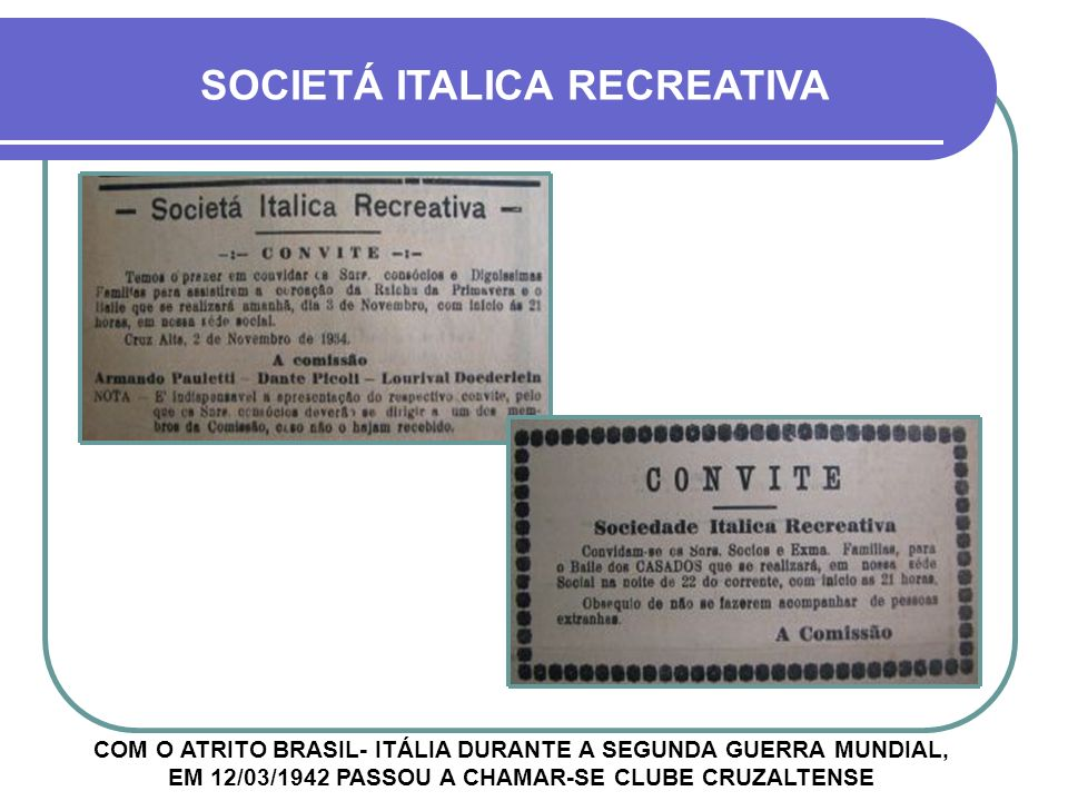 SOCIETÁ ITALICA RECREATIVA