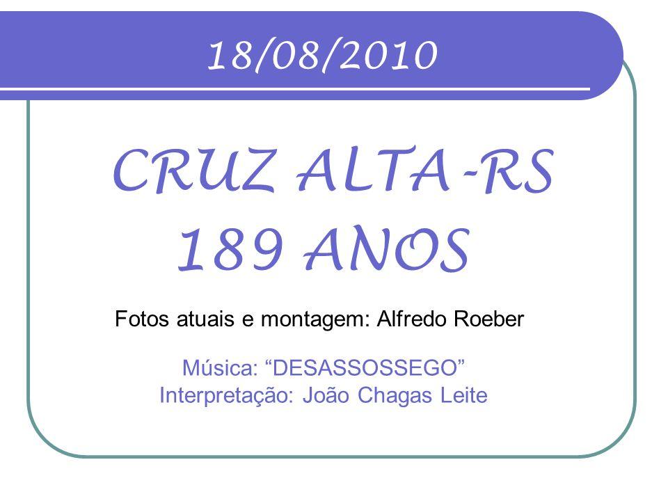 Música: DESASSOSSEGO Interpretação: João Chagas Leite