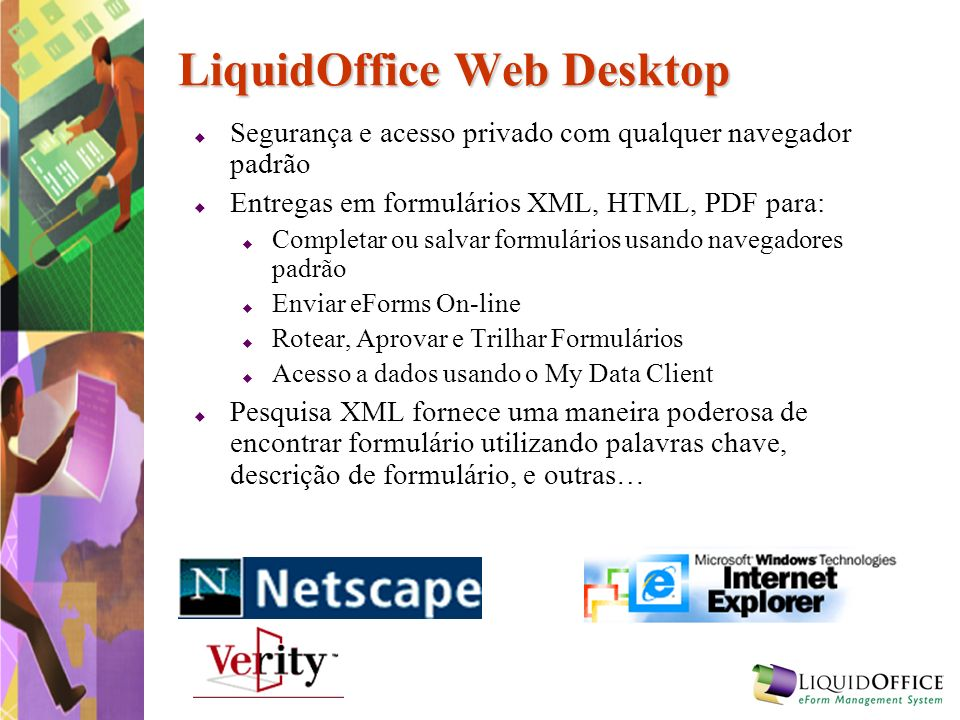 LiquidOffice Web Desktop