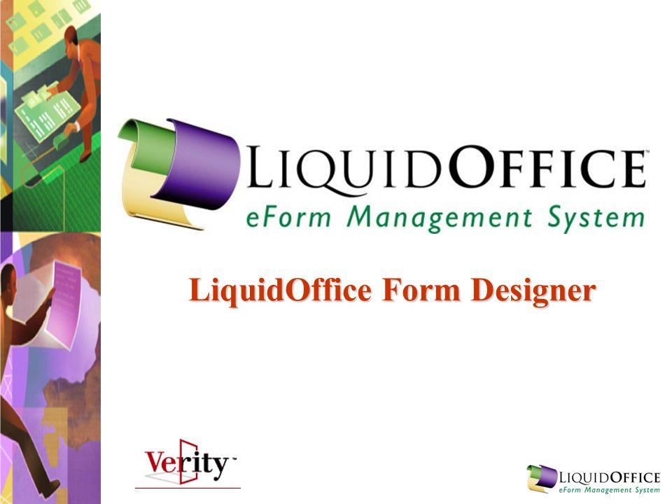 LiquidOffice Form Designer