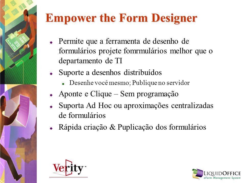 Empower the Form Designer