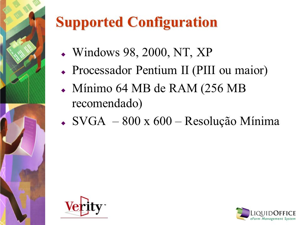 Supported Configuration