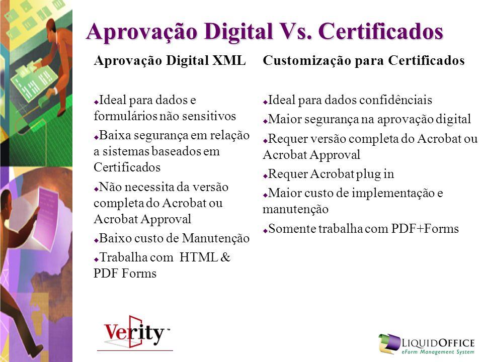 Aprovação Digital Vs. Certificados