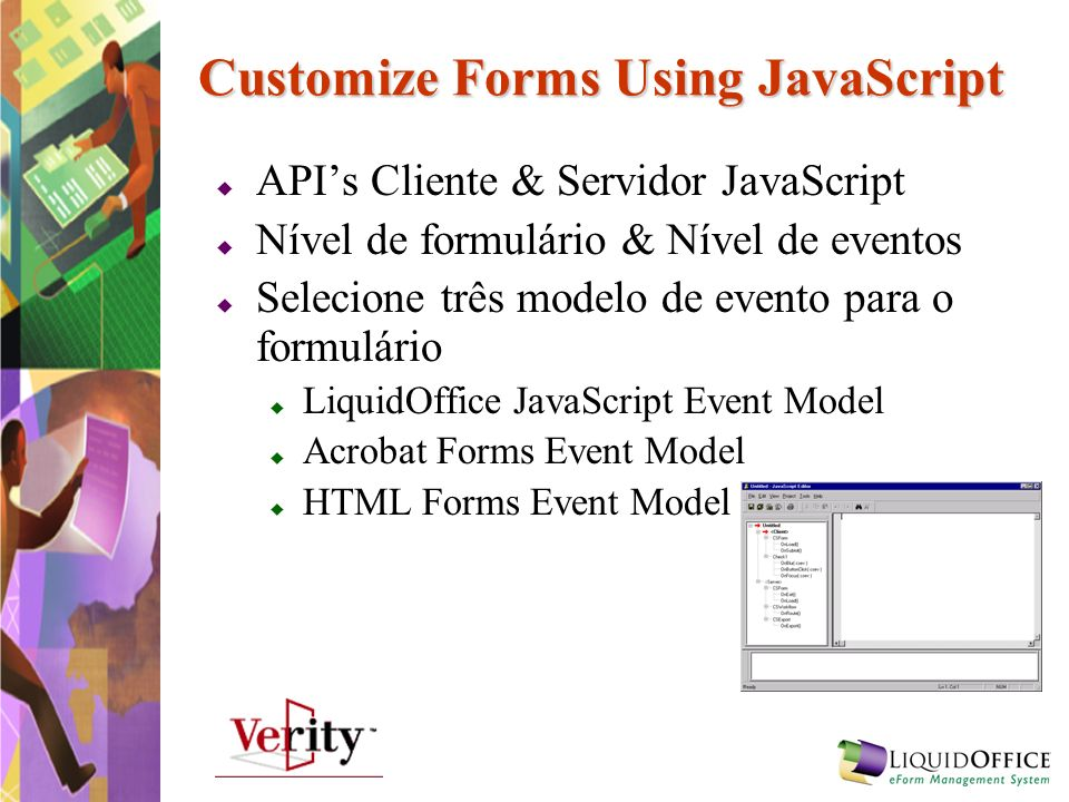 Customize Forms Using JavaScript