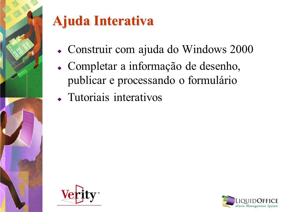 Ajuda Interativa Construir com ajuda do Windows 2000
