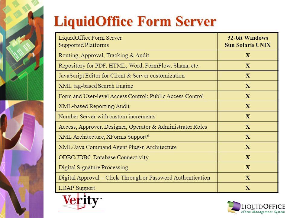 LiquidOffice Form Server