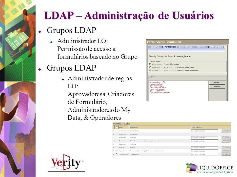 LDAP – Administração de Usuários